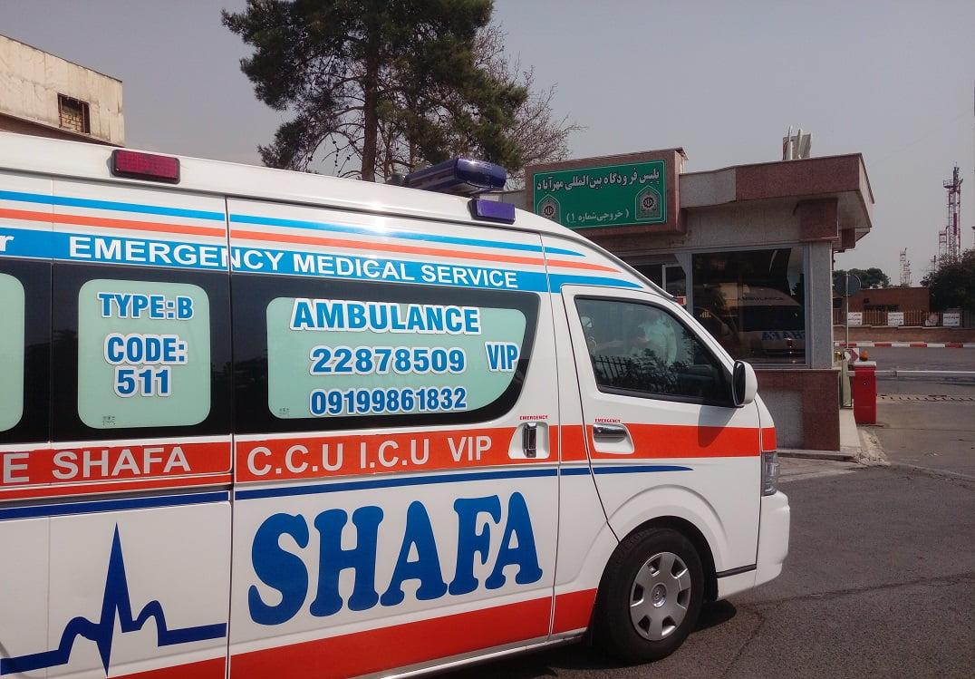 آمبولانس فرودگاه
